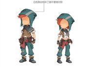 Adventurer's set concept art