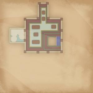 Map Portia Museum 2nd floor