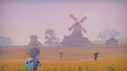 Sunset in the Fields 2