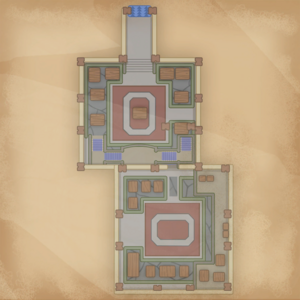 Map Portia Museum 1st floor