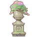 Marble Flower Stand