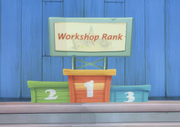 Workshop Rank Pedestals