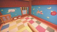 Ginger's room corner