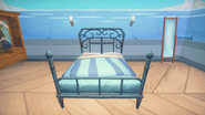 Iron Framed Double Bed Front