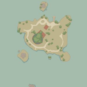 Map Starlight Island