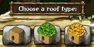Hut Roof Types