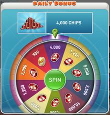 MyVegas Daily Bonus