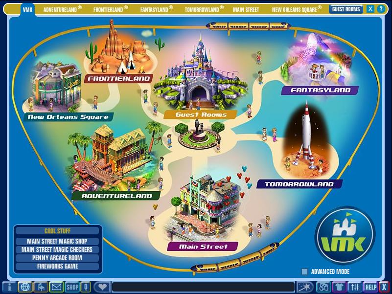 VMK Map | My Virtual Magic Kingdom Wiki | FANDOM powered by Wikia
