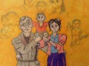 Family portrait by zombierelish-d6r8b1y