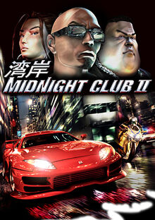 Midnight Club II Coverart
