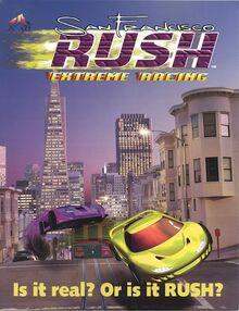 San Francisco Rush Extreme Racing Cover