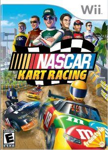 NASCAR Kart Racing Cover