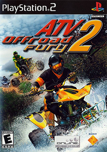 ATV Offroad Fury 2 Coverart