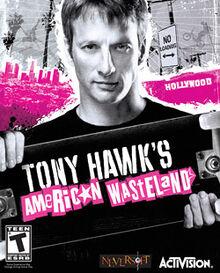 Tony Hawk's American Wasteland coverart