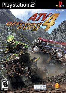 ATV Offroad Fury 4 Coverart