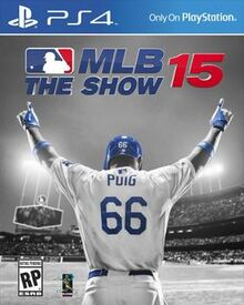 MLB 15 The Show cover art