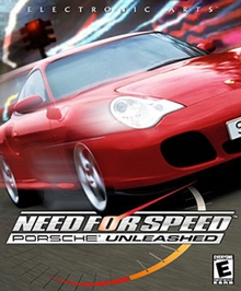 Need for Speed - Porsche Unleashed Coverart