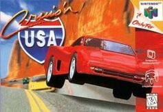 Cruis'n USA for N64, Front Cover