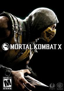 Mortal Kombat X Cover Art