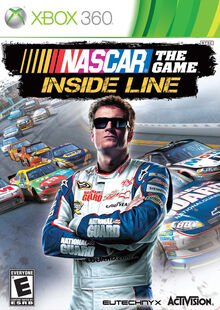 NASCAR The Game Inside Line cover