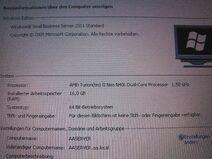 Windows 2011 SBS Standard