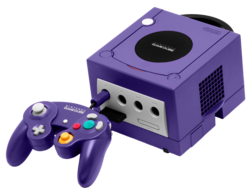 -GameCube controller