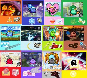 Team Kirby sprites