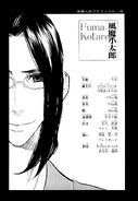 Kotarou Fuuma manga character profile