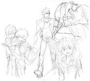 Yuhki Kamatani's Sketches