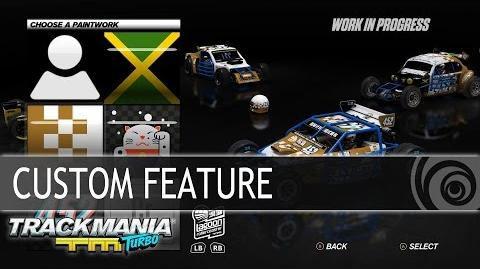 Trackmania Turbo - Custom feature