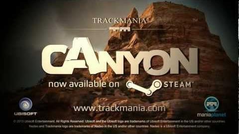 TrackMania² Canyon - Steam Trailer