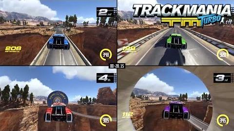 Trackmania Turbo Multiplayer trailer – More drivers, more fun! EUROPE