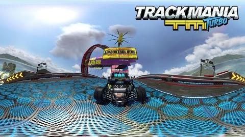 Trackmania Turbo – 360° demo - Lagoon Rollercoaster