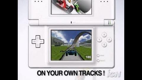 TrackMania DS Nintendo DS Trailer - Race Time Trailer