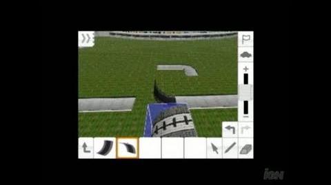 TrackMania DS Nintendo DS Trailer - Editor Trailer