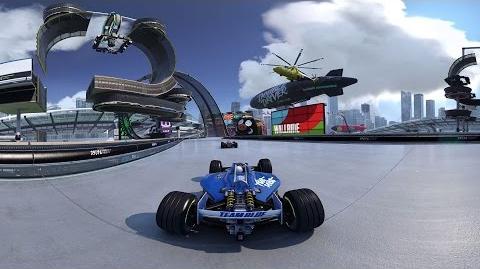Trackmania Turbo - 360° demo – International Stadium