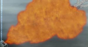 Viento Bola de Fuego Aceite de Sapo
