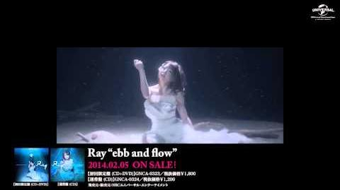 【Ray】5th Single「ebb and flow」MV -short ver