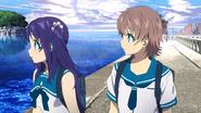 Chisaki and Kaname spot Manaka