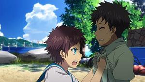 Hikari's confrontation
