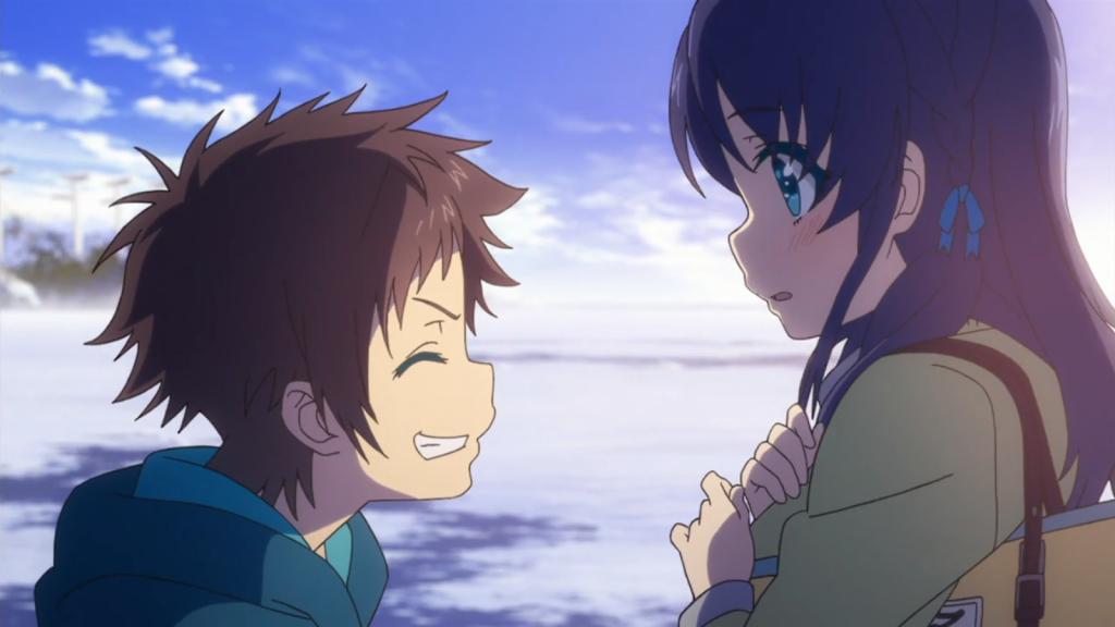 Chisaki And Hikari Reunite