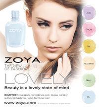 Zoya Nail Polish Lovely Spring-2013 tease