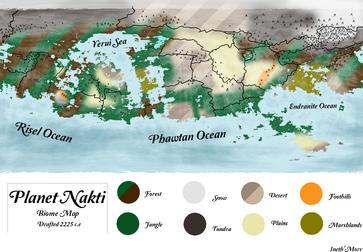 Nakti geographic map final