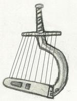Sword harp small