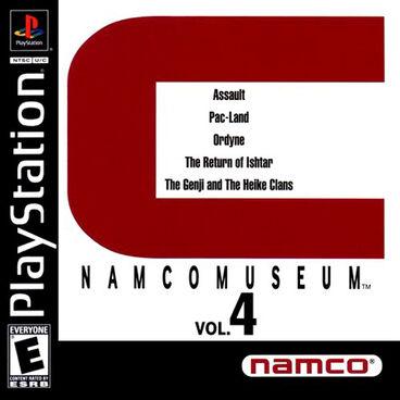 Namco Museum Vol.4 -U- -SLUS-00416--front