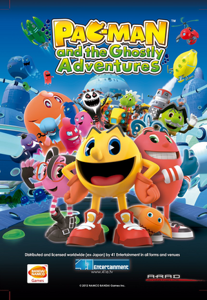 Pac-Man and the Ghostly Adventures - Banner