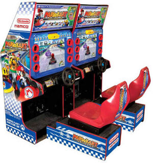 Mario Kart Arcade GP Player 1-2
