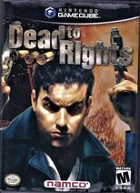 Dead to Rights Gamecube Cover