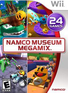 Namco Museum Megamix cover