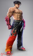 Jin Kazama en Tekken 6